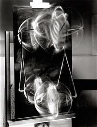 licht-raum-modulationen portfolio (portfolio of 6) by lászló moholy-nagy