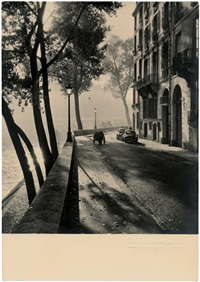 views of paris (6 works) by albert monier
