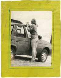 woman cleaning car by miroslav tichý