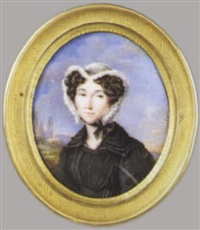 porträt charlotte sophie du vivier von fontenay by jean baptiste sambat