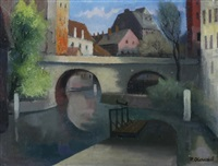 kanalbrücke in offenbach by paul arnoul