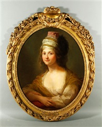 portrait of princess linchnowska by elisabeth louise vigée le brun