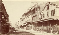 chinese quarter, s.f. cal (3 works) by isaiah west taber