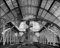 interior view of palm house, kew gardens by stefan koppelkamm