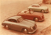 three porsches by metz gebrüder (bothers)