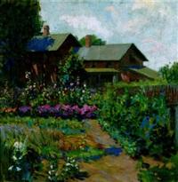 summer in the garden by irving kraut manoir