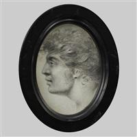profilporträt eines jungen mannes by louis ami arlaud-jurine