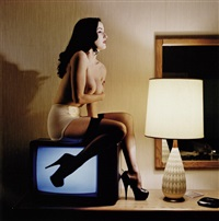 dita von teese (from motel fetish) (3 works) by chas ray krider