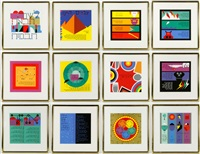 passover series (12 works) by yaacov agam