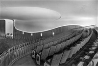views of the gloria palast movie theater, kurfürstendamm, berlin (3 works) by arthur and walter koster