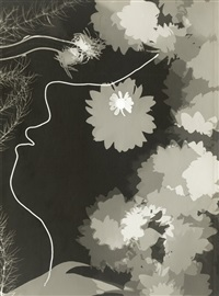 profile, photogram by varvara rodchenko