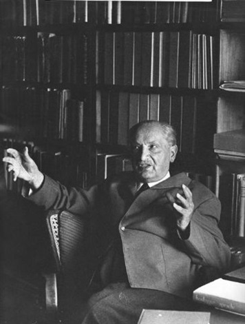 the philosopher martin heidegger by digne meller marcovicz