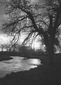 landscape in normandy by albert monier