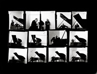 igor stravinsky (1882 - 1971), series of contacts by arnold newman
