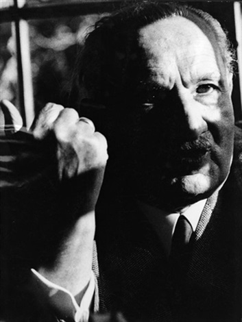 the philosopher martin heidegger 1889 1976 from the spiegel interview with rudolf augstein 2 works by digne meller marcovicz
