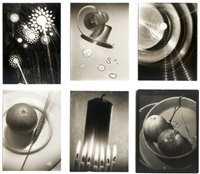 reflection and still life studies (7 works) by willy otto zielke