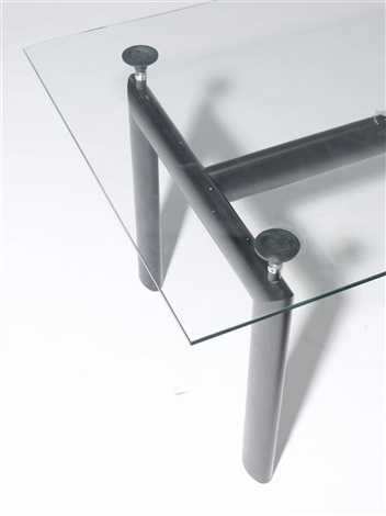 esstisch modell lc6 by le corbusier