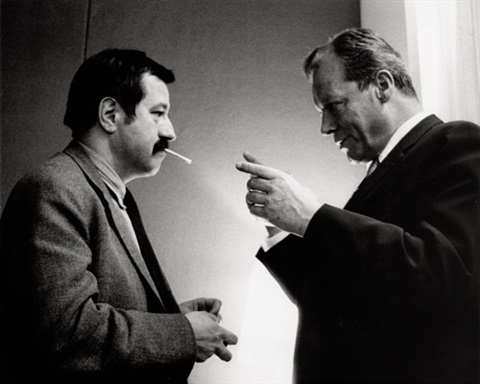 günter grass and willy brandt by digne meller marcovicz