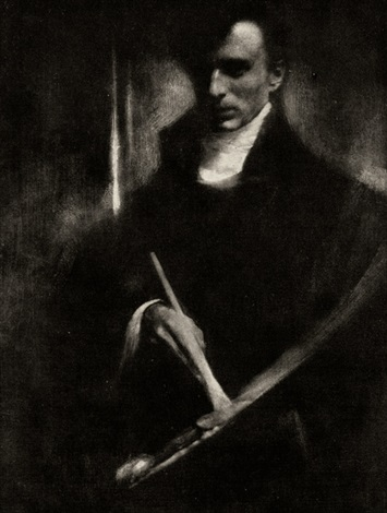 self portrait from camera work no 2 by edward steichen