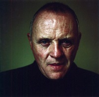 the actor anthony hopkins by oliver mark
