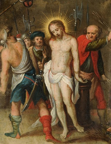 geisselung christi by frans francken the younger