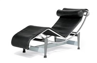 liege, modell lc4 (b306) by le corbusier, charlotte perriand and pierre jeanneret