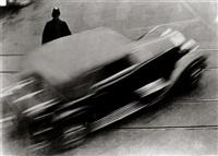 zeitprotokoll mit auto, zürich (time log with auto, zurich) by anton stankowski