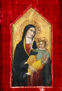 madonna mit kind by taddeo gaddi