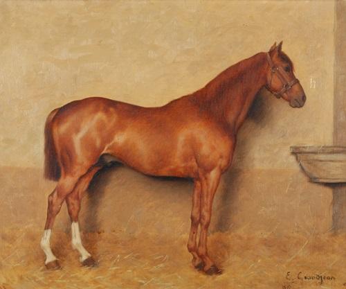 pferd by edmond georges grandjean