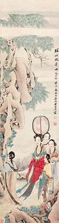 瑶姬祝寿 by huang shanshou