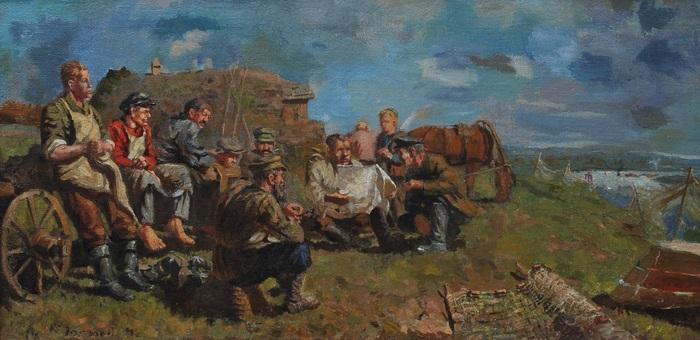 feldarbeiter by vassili arapov