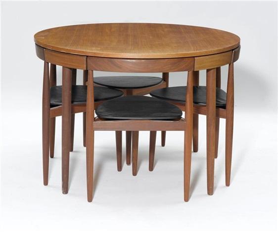 Runder Tisch 4 5 Hans Artnet Of Olsen Mit Stühlen On Set By thQCsrd