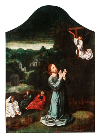 Jesus Im Garten Gethsemane By Gerard David On Artnet