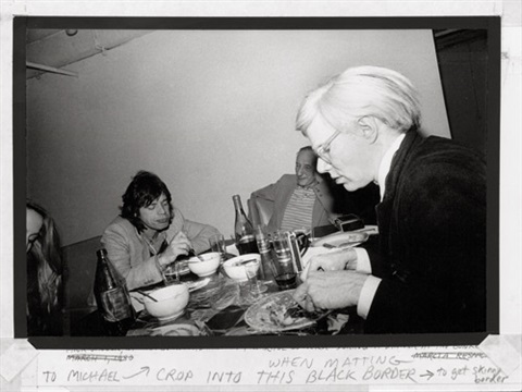 andy mick and william at the bunker new york by marcia resnick