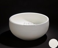 white in white bowl by xu qun