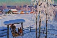 winterlandschaft by alexandre kremer