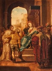 christus vor pilatus by hendrik goltzius