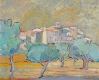 village de biot by alphonse lanoe