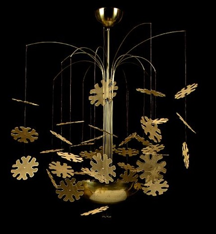 Snowflake chandelier by paavo tynell on artnet snowflake chandelier by paavo tynell mozeypictures Choice Image