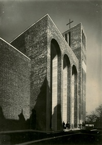 st. martin's church, mülheim an der ruhr by julius söhn