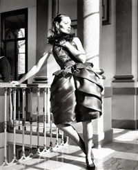 fashion photos, italy (valentino and others) and paris (schiaparelli) (4 works) by relang (regina lang)