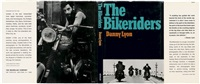 the bikeriders. 49 plates of illustrations in black and white after by danny lyon