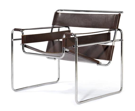 FAUTEUIL, Wassily N°B3 model by Marcel Breuer on artnet