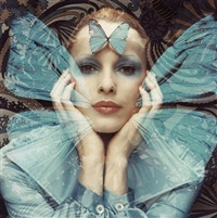 schmetterlings-serie (butterfly series) by relang (regina lang)
