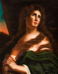 brustbild einer heiligen mit gefalteten händen by anonymous-italian (19)