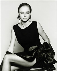 fashion photos (2 works) by terence donovan