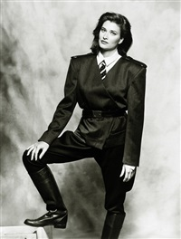 fashion photos (3 works) by terence donovan