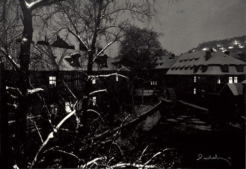 winter in prague by josef sudek