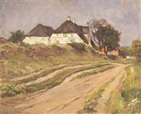 alte häuser in kaitum by wilhelm hempfing