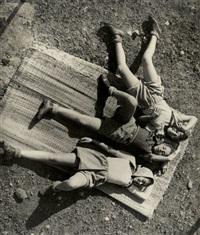 kibbutz workers resting by walter zadek